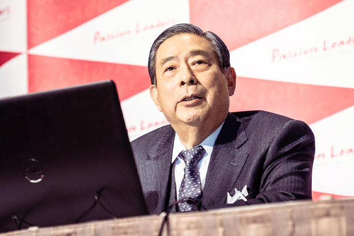 1位 SBIホールディングス株式会社 代表取締役社長 北尾 吉孝氏
