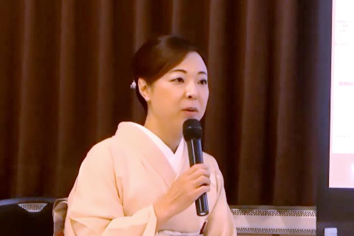 高橋 知子氏(株式会社緑水亭 若女将)
