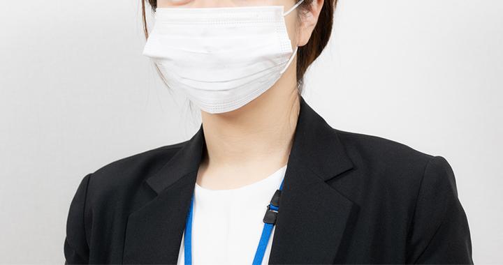 マスクの着用、咳エチケット