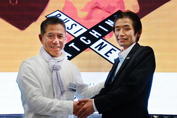 サントス大田氏と佐久間竹彦氏