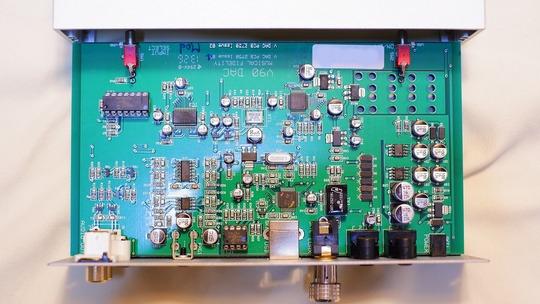Musical Fidelity V90 DAC inside