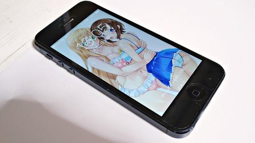 iPhone5分解バッテリー交換