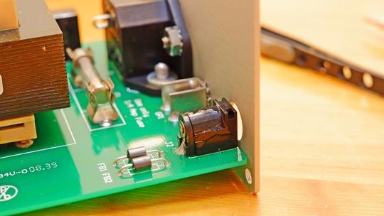 ミニACインレット修理 CI AUDIO VAC-1