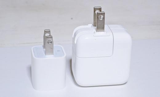 Apple 5W 12W USB電源アダプタ
