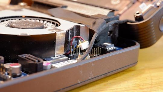 CPUファン 電源カプラー ASUS VivoMini VC65