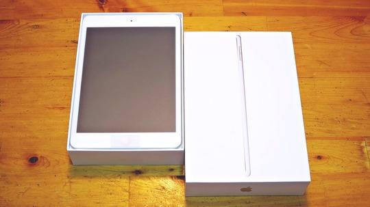 新型iPad mini パッケージ