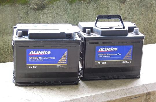 ACデルコ バッテリー 20-55D 20-60D