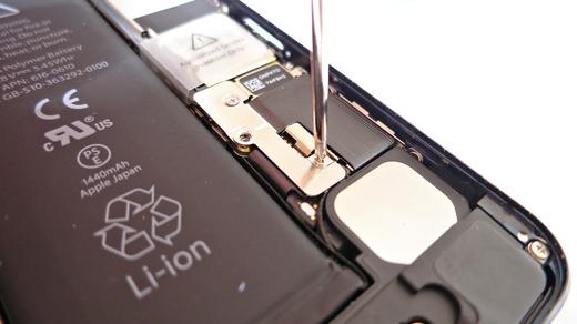iPhone5 バッテリー接続端子