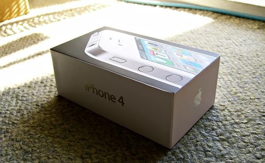 iPhone4化粧箱パッケージ