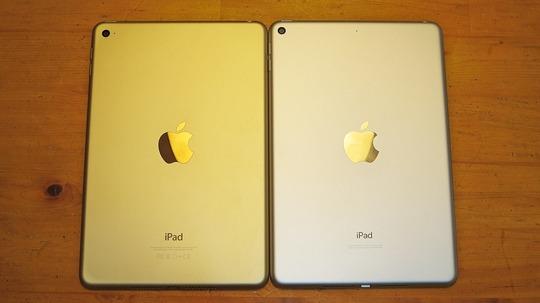 新型iPad mini/iPad mini 4 裏側