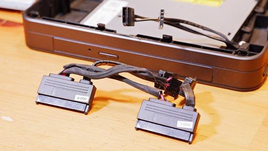 VivoMini VC65 SATA接続コネクタ