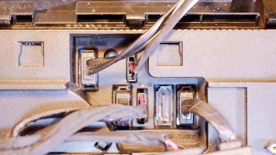 SATAコネクタ HDD1L HDD2L PWR1 HDD1R