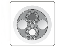 QED Signature Genesis Silver Spiral 構造2