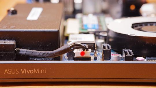 ASUS VivoMini VC65 マザーボード電源カプラー