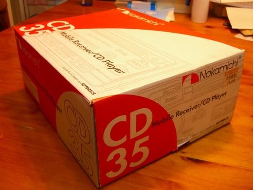 ナカミチCD-35