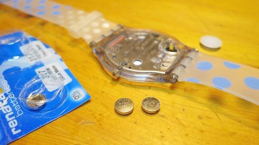 Swatch Skin 電池renata317 SR516SW