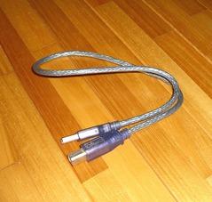 USBケーブル青シースルー