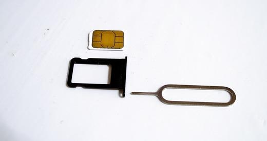 iPhone5 simカード取り出しツール