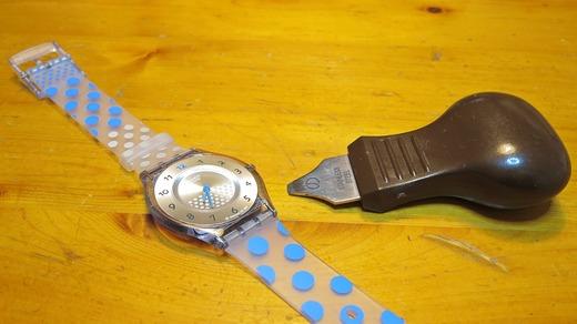 Swatch Skin 電池交換