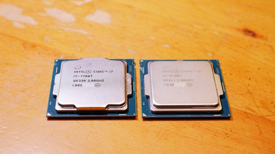 CPU Skylake Core i5-6400T Kaby lake Core i7-7700T