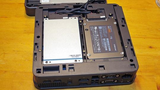 ASUS VivoMini VC65 Samsung 860 evo