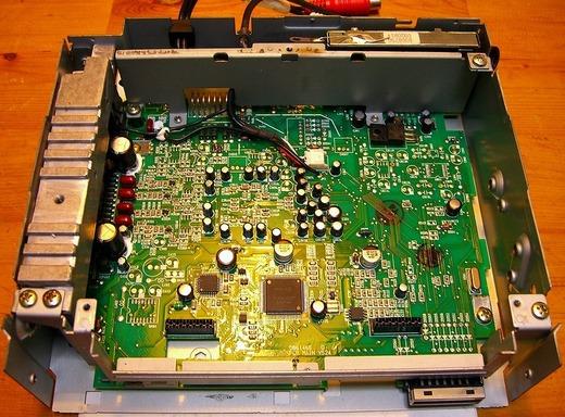 Nakamichi CD-350基板