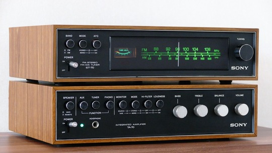 SONY Vintage Audio