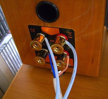 バイワイヤリング接続 QUAD L-ite2