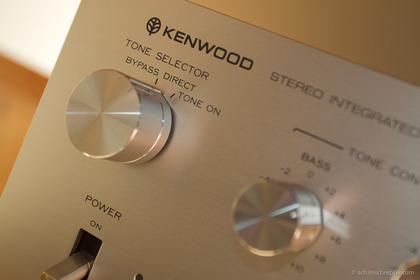 KENWOODのプリメインアンプ