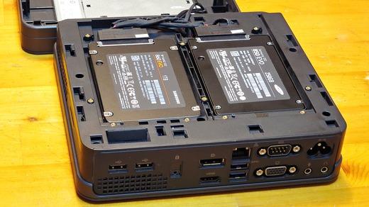 ASUS VivoMini VC65 Samsung dual SSD