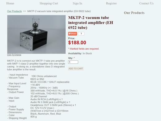 Miuaudio MKTP-2 price