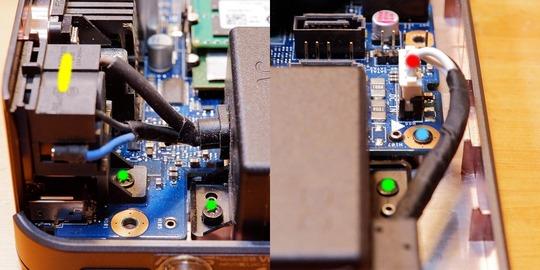 ASUS VivoMini VC65 電源ユニット脱着
