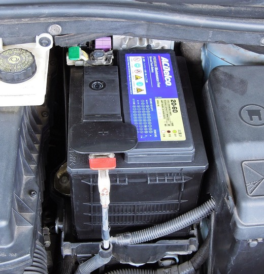 AC delco 20-60バッテリー