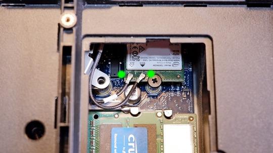 Wi-Fi無線LANカード Wirelessモジュール 配線
