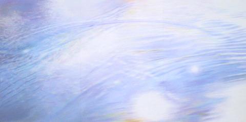 パステルで描く大型作品-Ⅱ 水の景