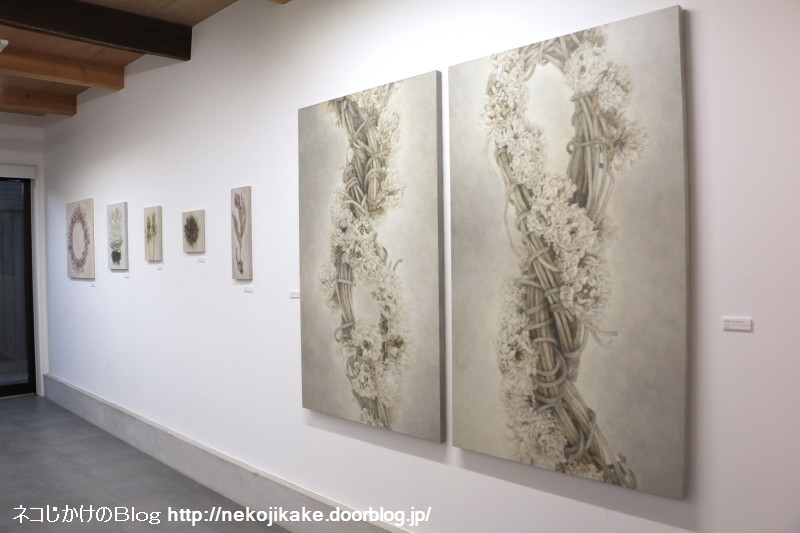2018102124稲田早紀展@Nii Fine Arts。1