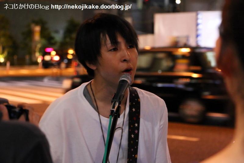 2017081811ハヤシケイ路上ライブ2017 in大阪。4