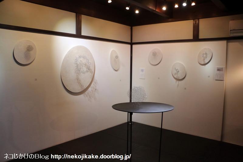 2018042206小林京和展@ gallery C.A.J.会場。