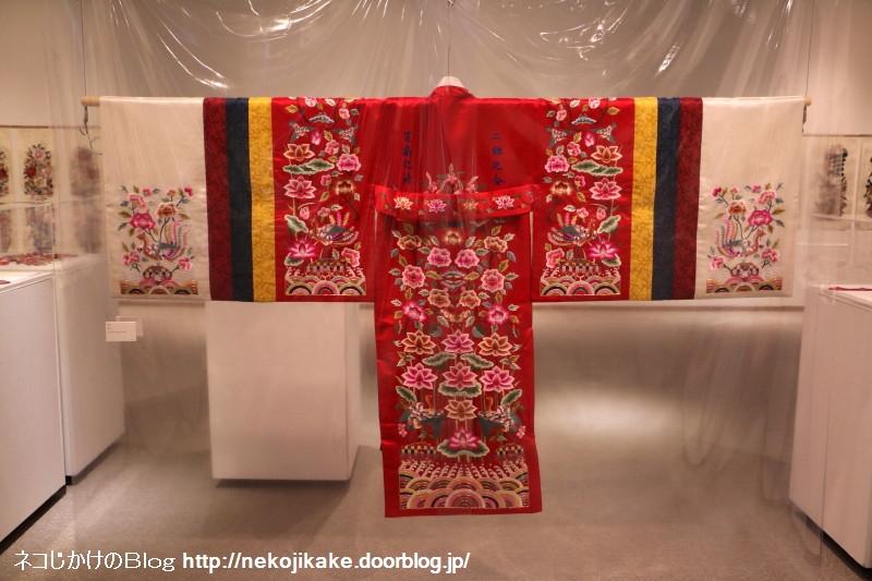2018022216張英蘭 韓国刺繍コレクション展。7