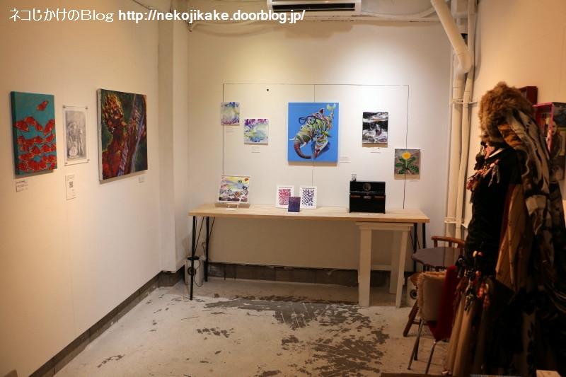 2019062913アートと音楽の展覧会 vol.01@pad gallery。4