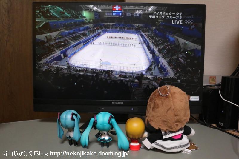 2018021205平昌五輪アイスホッケー女子 予選リーグ 日本vsスイス。1