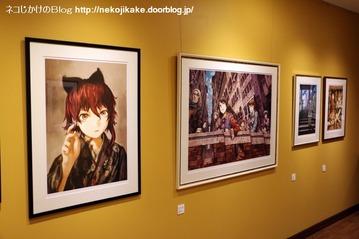 2015120509「祝祭の街 明・暗・素」展in京都。7