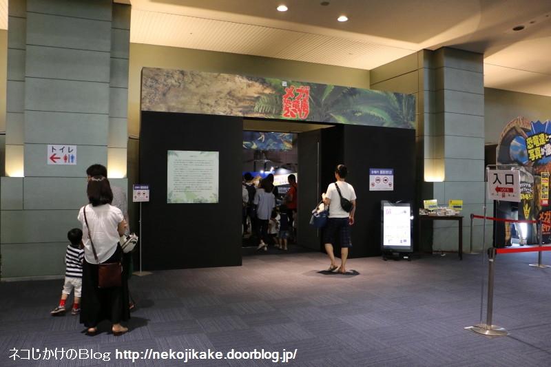 2017073006メガ恐竜展201@ 大阪南港ATCホール。4