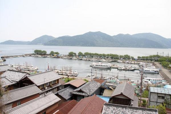 日本唯一。その7 沖島漁港2