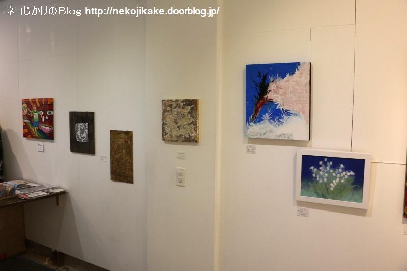 2019062914アートと音楽の展覧会 vol.01@pad gallery。5