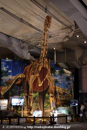 2017073016メガ恐竜展201@ 大阪南港ATCホール。14