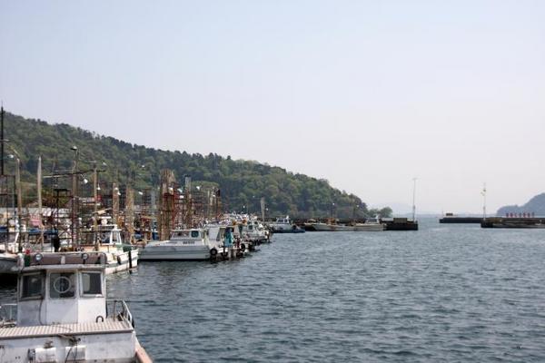 日本唯一。その2 沖島漁港1
