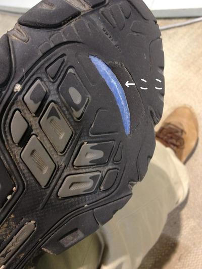 2011122003おニューの靴。