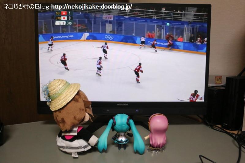 2018022002平昌五輪 アイスホッケー女子 日本vsスイス。1