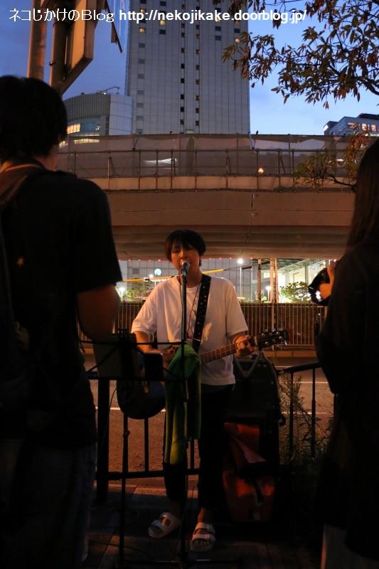 2017081810ハヤシケイ路上ライブ2017 in大阪。3